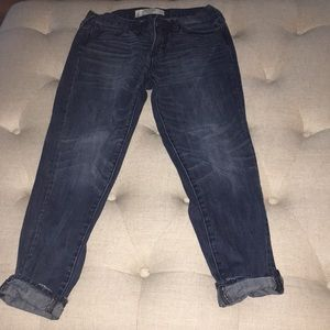 Abercrombie & Fitch Jeans - Abercrombie relaxed fit cropped jeans NWOT